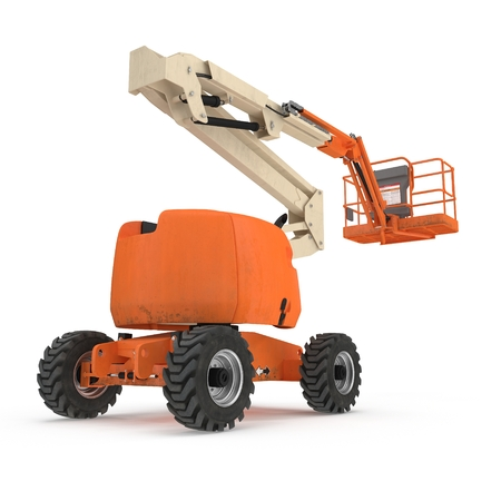 engine powered scissor lift